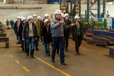 Visit of the SUSU representatives to JVK-Cimolai.