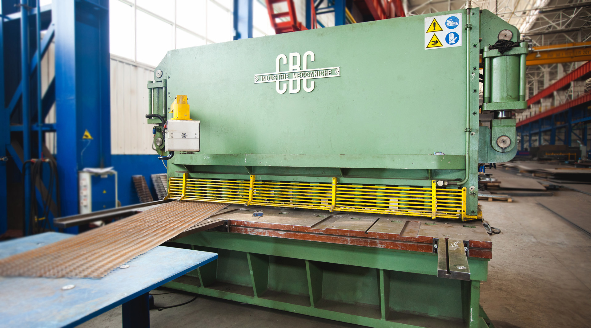 Guillotine shears CBC ID2-CN (Italy)